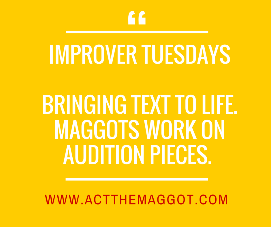 IMPROVERS CLASS - bring TEXT TO LIFE