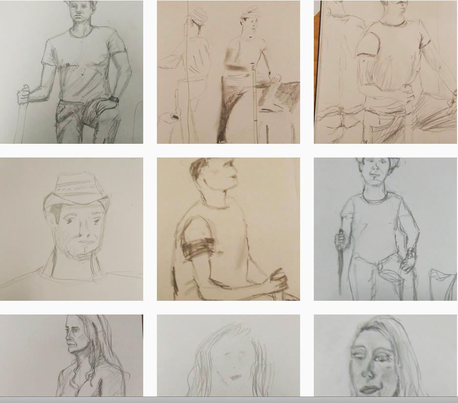 More portraits #pencil